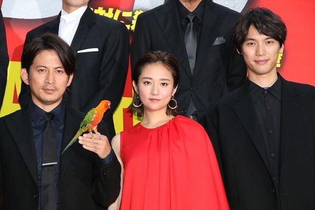 『ザ・ファブル』で共演した岡田准一、木村文乃、福士蒼汰