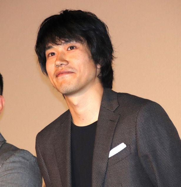 『プロメア』前夜祭イベントに登場した松山ケンイチ
