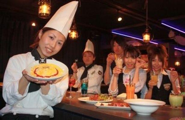 人気アニメ 「ワンピース」初の公式レストラン『ワンピースレストラン~ゴーイングメリー号~』が「銀座めざマルシェ」内に、12月11日(土)~2011年5月31日(火)の期間限定でオープン!