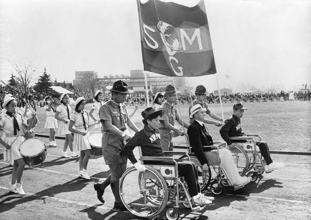 1964年の東京パラリンピックの貴重映像が満載!