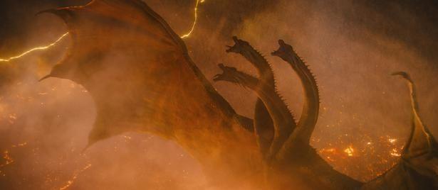 ゴジラとの最終決戦でのキングギドラの勇姿は、是非劇場でご確認いただきたい