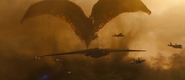ラドンによる、驚天動地の攻撃シーンは必見!