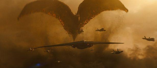 獰猛に襲いかかる!翼竜のような姿のラドン