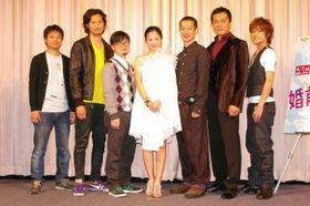 5人の彼氏と付き合っている吉高由里子が5人のくちびる総なめに笑顔