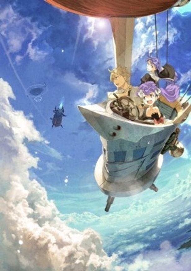 アニメ「フラクタル」メーンビジュアル
