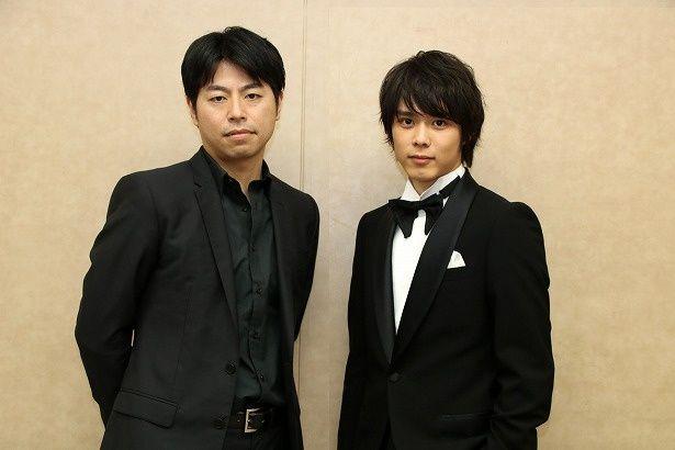 『町田くんの世界』で映画初主演の細田佳央太と石井裕也監督