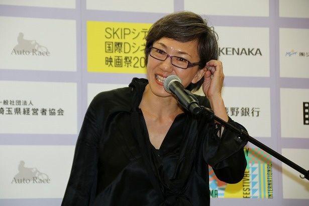 国内コンペティション部門の審査委員長の荻上直子監督