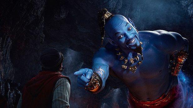 ウィル・スミスが演じるランプの魔人ジーニーが「最高!」