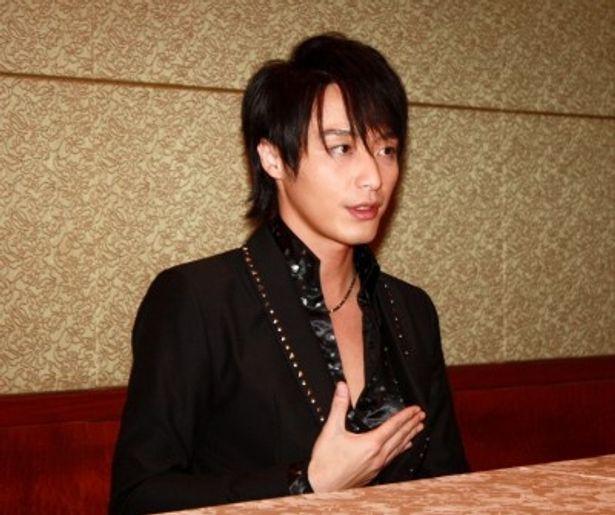 ドラマ「さくら心中」で、蔵人・高梨比呂人役を演じる徳山秀典