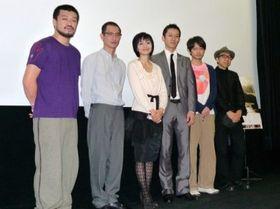『海炭市叙景』初日舞台挨拶開催も、熊切和嘉監督がノロウィルスで欠席に