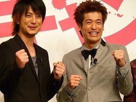 『漫才ギャング』完成報告で品川ヒロシ監督「まさにベストのキャスティング!」