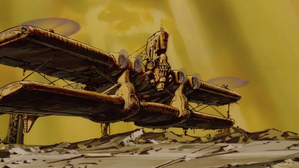 """全長92メートルを誇る巨大輸送機""""ドンガメ"""""""