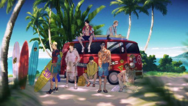 【画像を見る】GENERATIONSのメンバーがアニメに!新曲MV&映画本編の場面写真をイッキ見<画像17点>