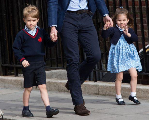 ジョージ王子、挙式で大役を務める?