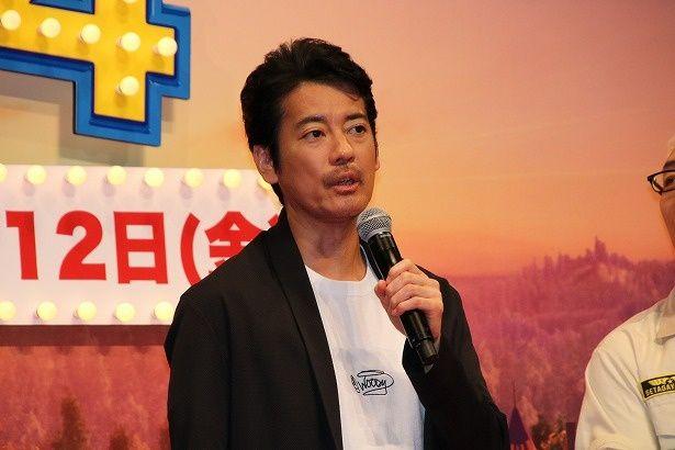ウッディ役の声優を務めた唐沢寿明