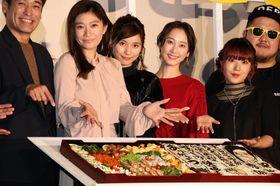 篠原涼子、『今日も嫌がらせ弁当』の原作者が手掛けた巨大キャラ弁に大喜び