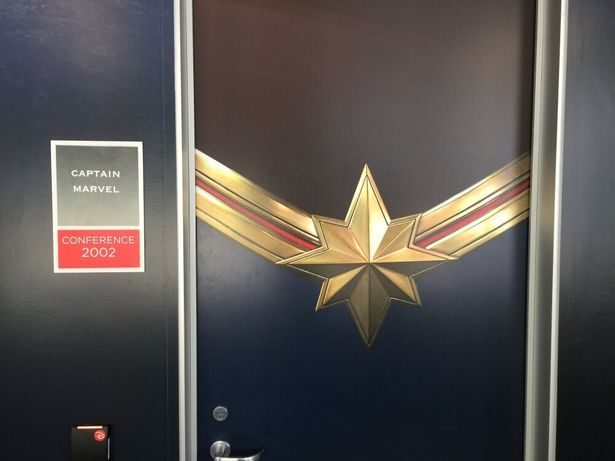 会議室にもキャラクターの名前がつけられている