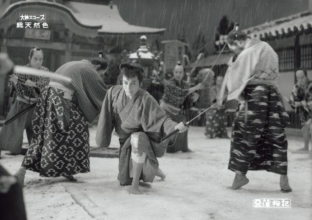 雷蔵主演時代劇としては初めて4Kデジタル復元版で上映される『薄桜記』