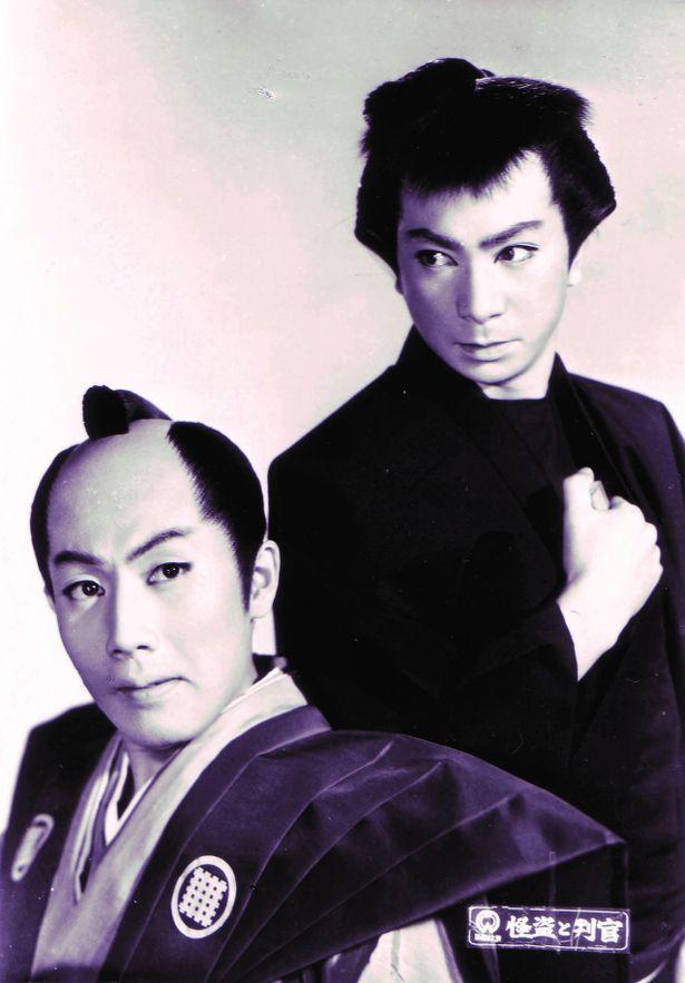 雷蔵と勝新コンビでマキノ正博の『弥次喜多道中記』をリメイクした『怪盗と判官』