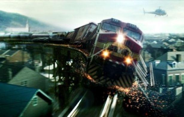 実在の列車暴走事故をベースにしたサスペンスアクションが遂に公開