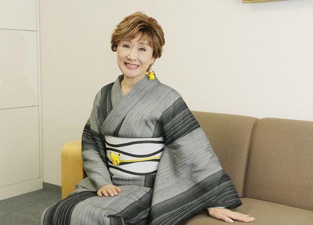 21年ぶりのオファーに「こんなにうれしいことはない」と笑顔を見せる小林幸子