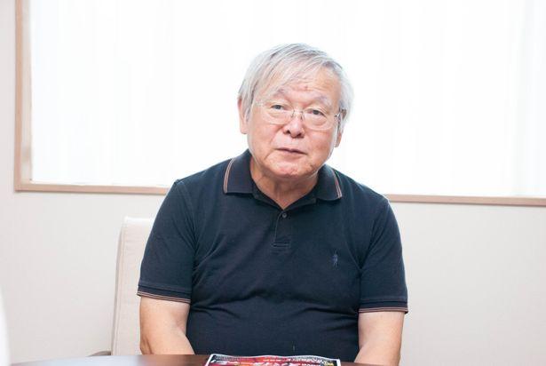 埼玉県の仕事場でインタビューに応じてくれた安彦良和監督