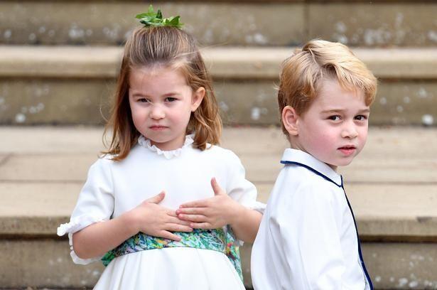 英王室の3きょうだいの姿を激写!