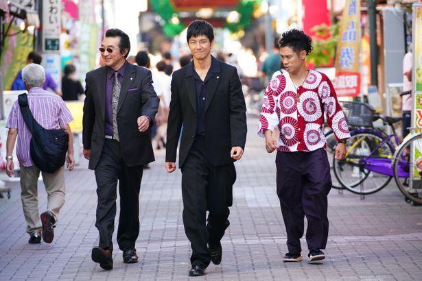 西島秀俊と西田敏行がダブル主演!『任侠学園』予告編が完成