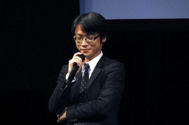 ラインナップ発表会にて本作のできばえについて語る山本寛監督
