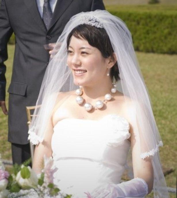 鈴木杏の初ウエディングドレス姿をスクリーンで見ることができるのは6月