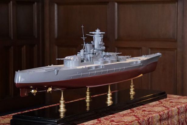大の大人も虜にしてしまう戦艦大和の模型