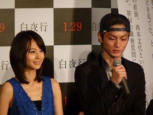 東野圭吾の人気作「白夜行」を堀北真希&高良健吾共演で映画化