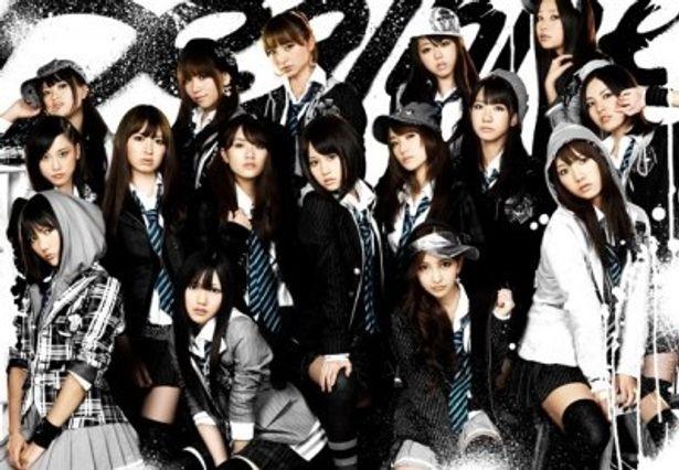 ドラマ24「マジすか学園2」に出演するAKB48のメンバー