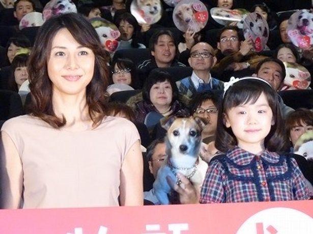 大女優と小さな女優が同席!松嶋菜々子と芦田愛菜