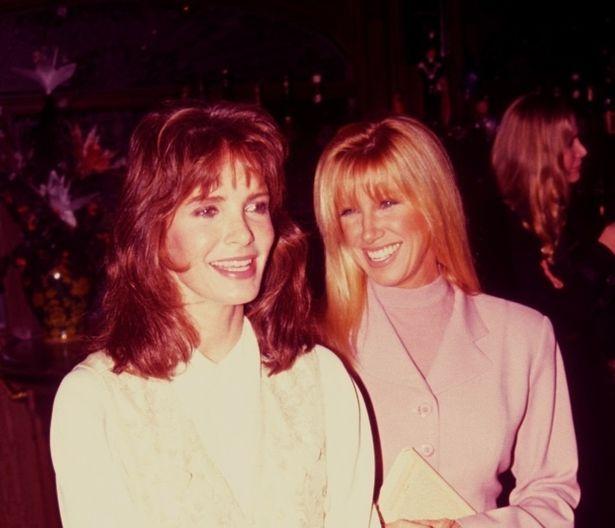 28年前、40代のジャクリーン・スミス(左)