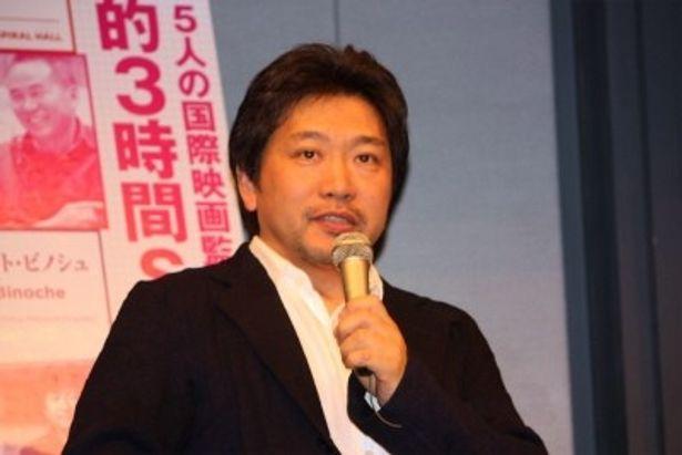 『誰も知らない』(04)や『空気人形』(09)などで知られる是枝裕和監督