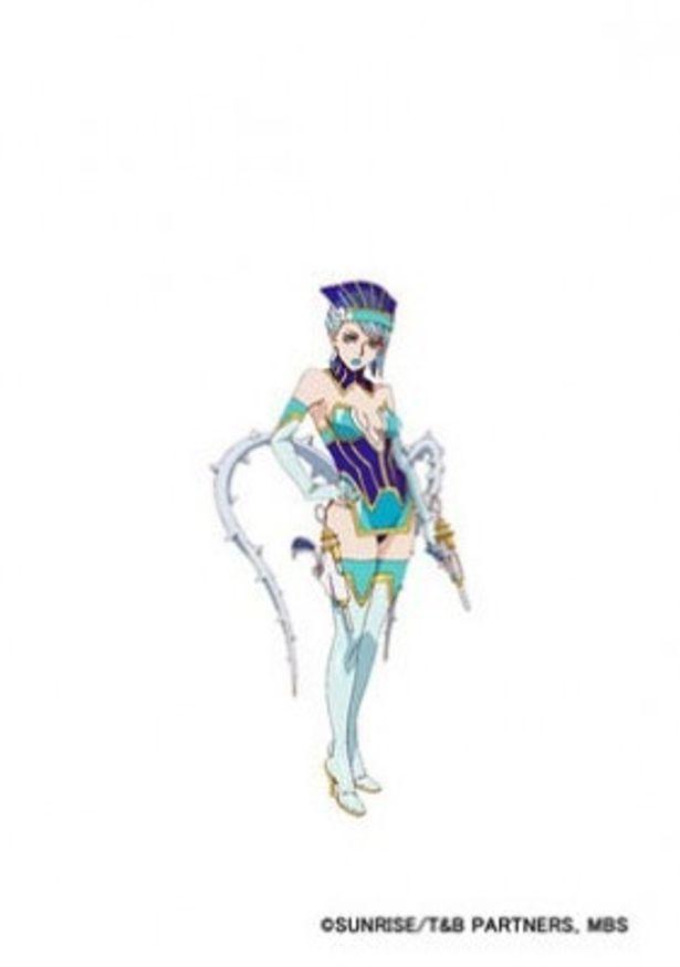 タイタンインダストリー所属のアイドルヒーロー、ブルーローズは氷を操る女王様キャラ