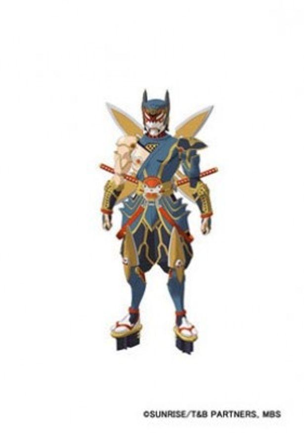 こちらはヘリペリデスファイナンス所属の忍者ヒーロー、折紙サイクロン