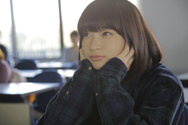 内気な女子大生・美羽を演じた石川瑠華