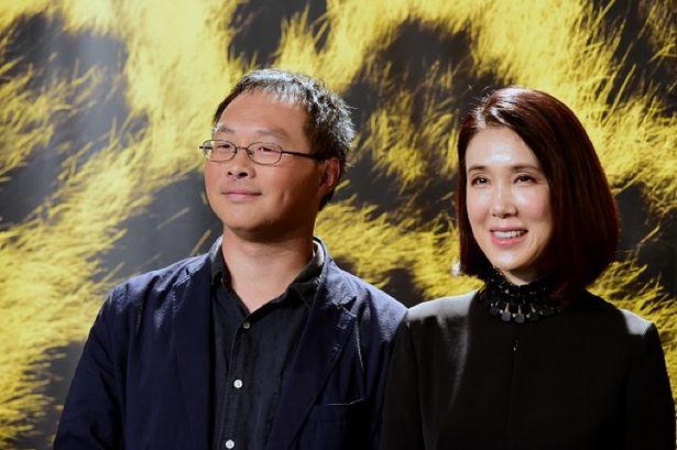 第72回ロカルノ国際映画祭での公式上映に深田晃司監督と筒井真理子が登壇した