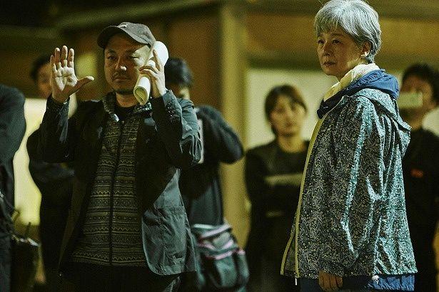 田中裕子を演出する白石和彌監督