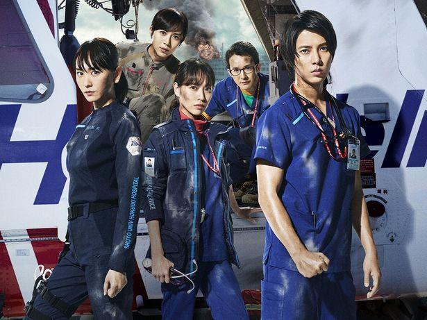 山下智久や新垣結衣、戸田恵梨香らが若きドクターやナースの成長を体現した「コード・ブルー」シリーズ