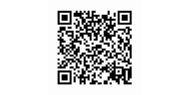 「涼宮ハルヒの憂鬱」サイトへのQRコード。DXプリーヤー登録は「らき☆すた」「ハルヒ」それぞれ個別に行う