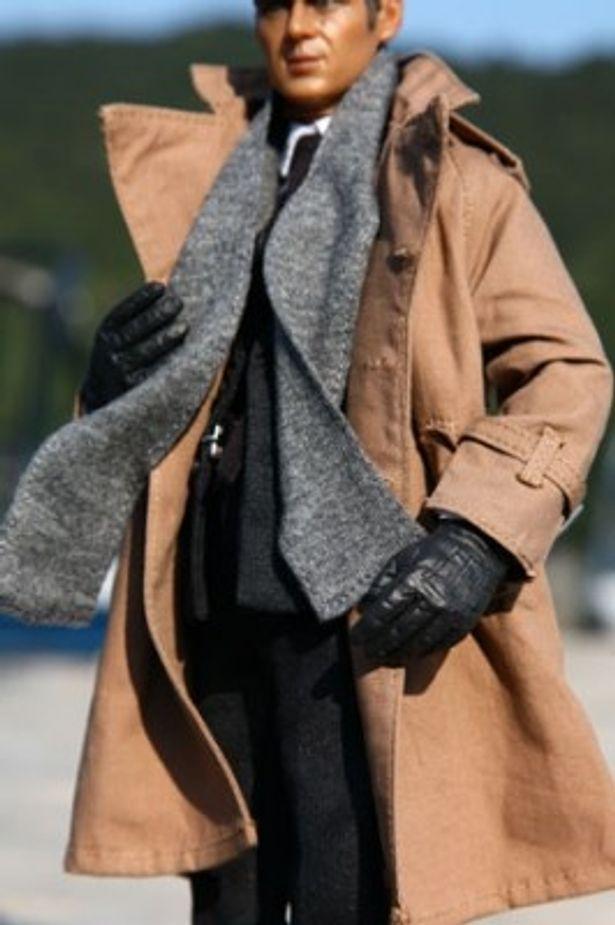 マフラーや手袋も精巧に作られている