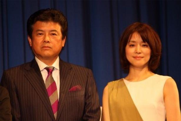 『死にゆく妻との旅路』で夫婦役を演じた三浦友和と石田ゆり子