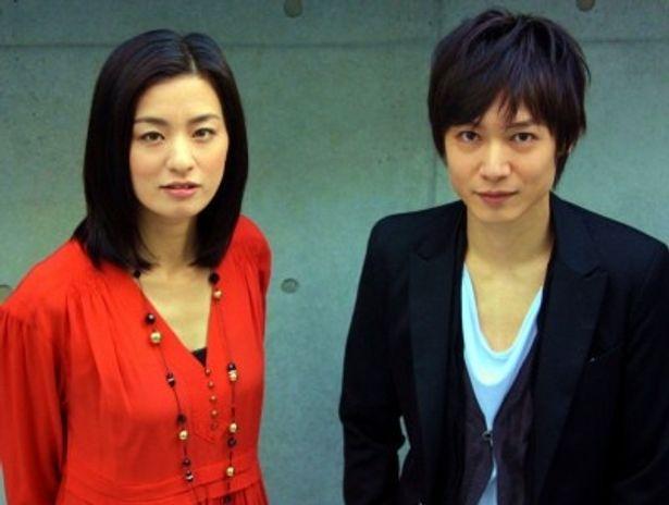 『心中天使』で共演した尾野真千子&郭智博