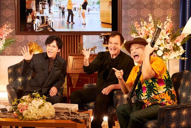 9月1日(日)のAbemaTV「7.2 新しい別の窓」にタランティーノ監督が出演
