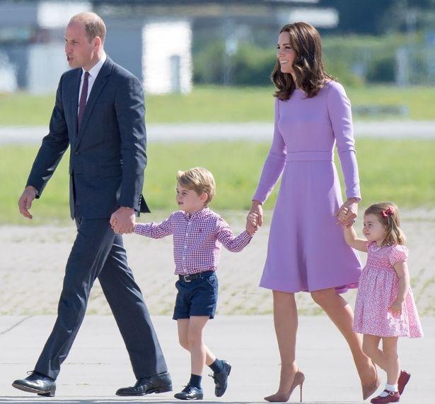 キャサリン妃一家がスコットランドから帰国