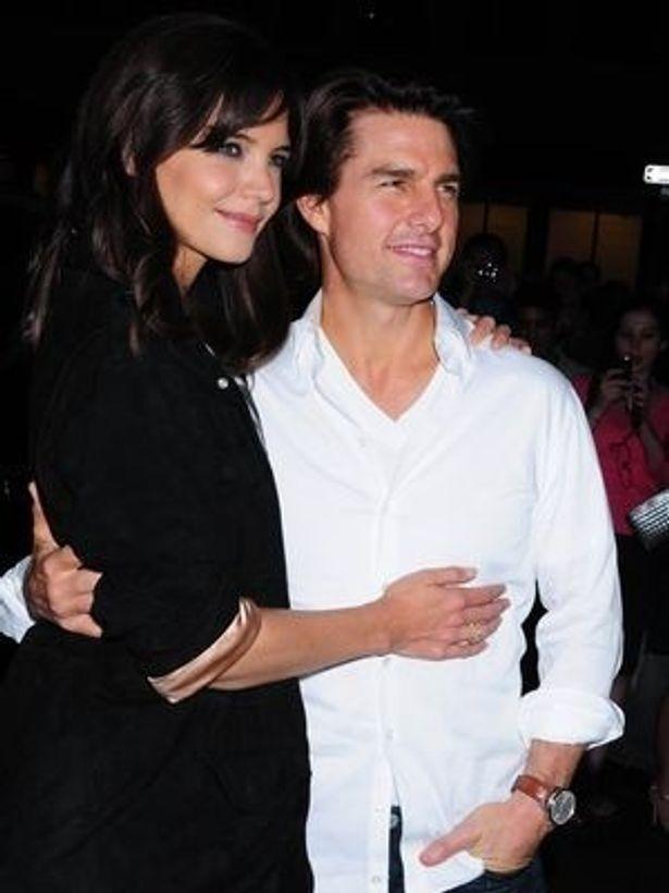 【写真】2006年にトムと結婚したケイティ。だが、娘のスリを出産後に復帰した女優業がいまいちぱっとしないままだ