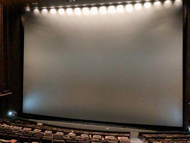 国内最大級の巨大スクリーンを堪能!